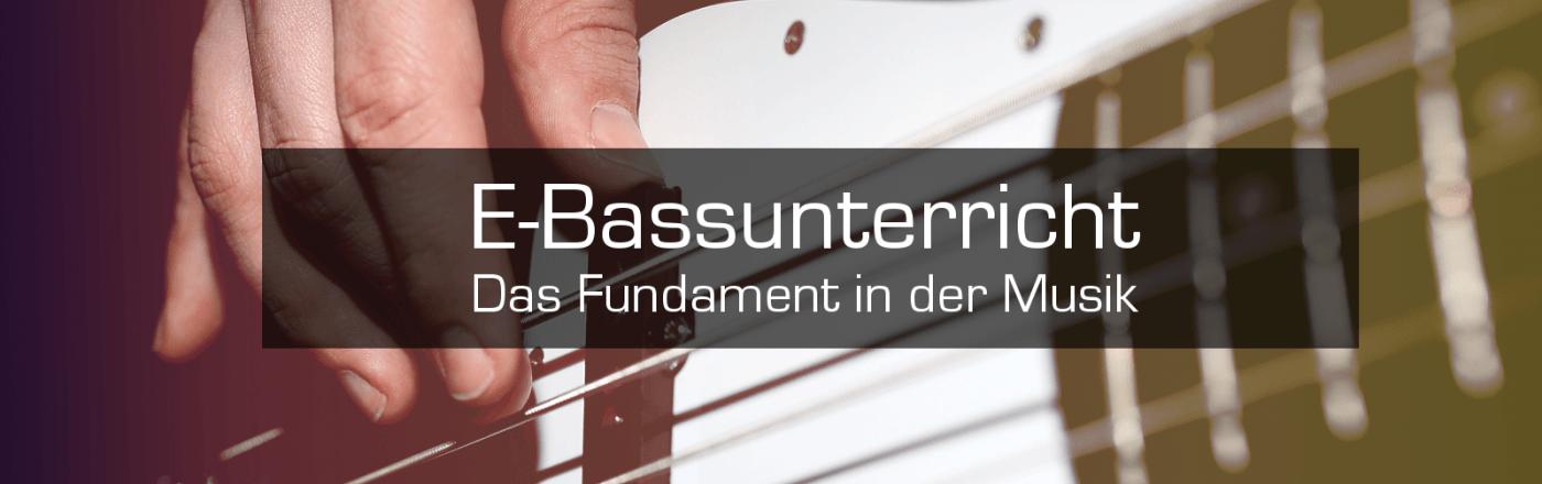 E-Bass Unterricht Düsseldorf