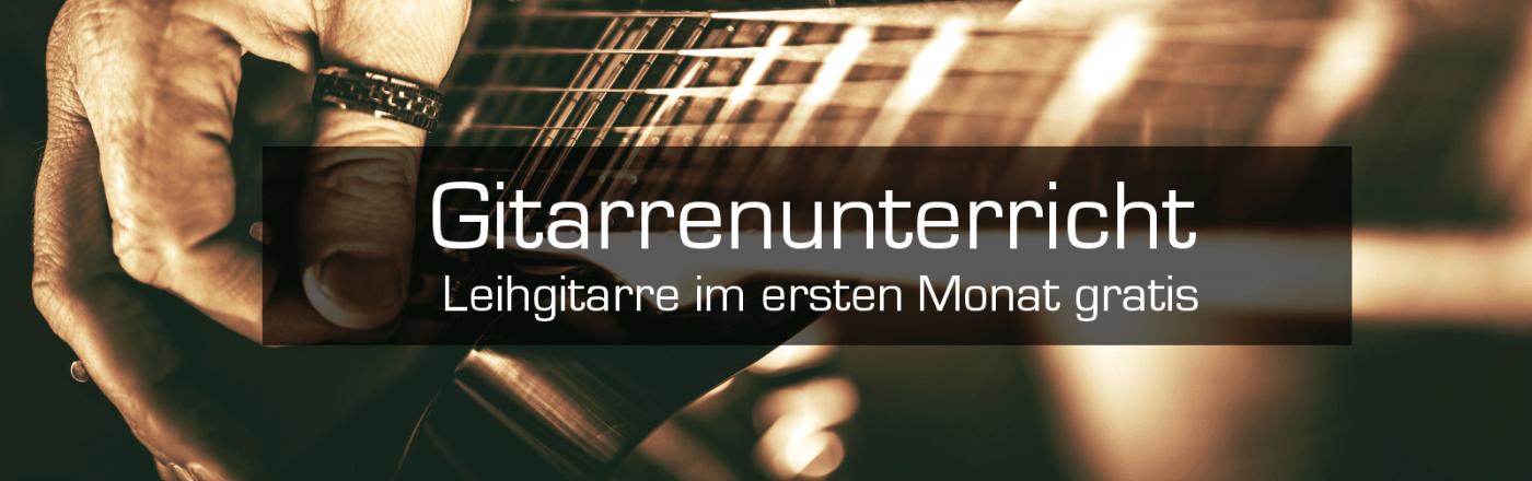Gitarrenunterricht Düsseldorf